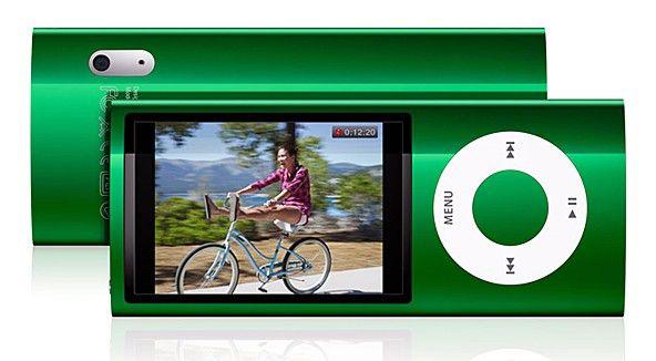 MP3 плеер APPLE iPod Nano flash 8Гб зеленый [mc040]