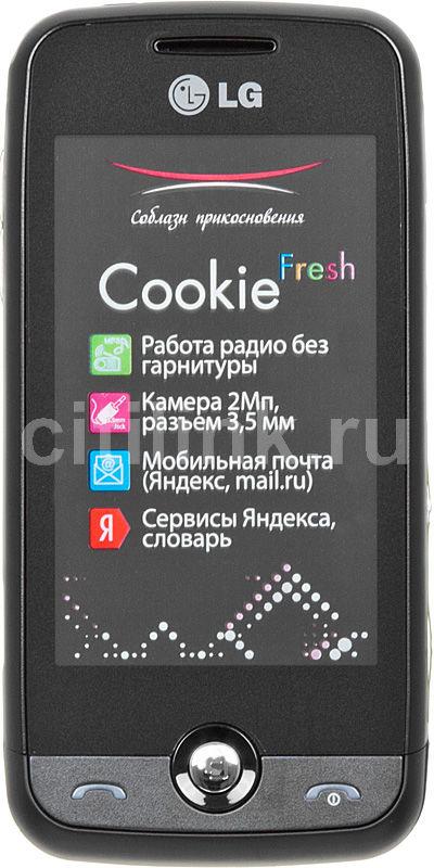 Мобильный телефон LG GS 290  черный