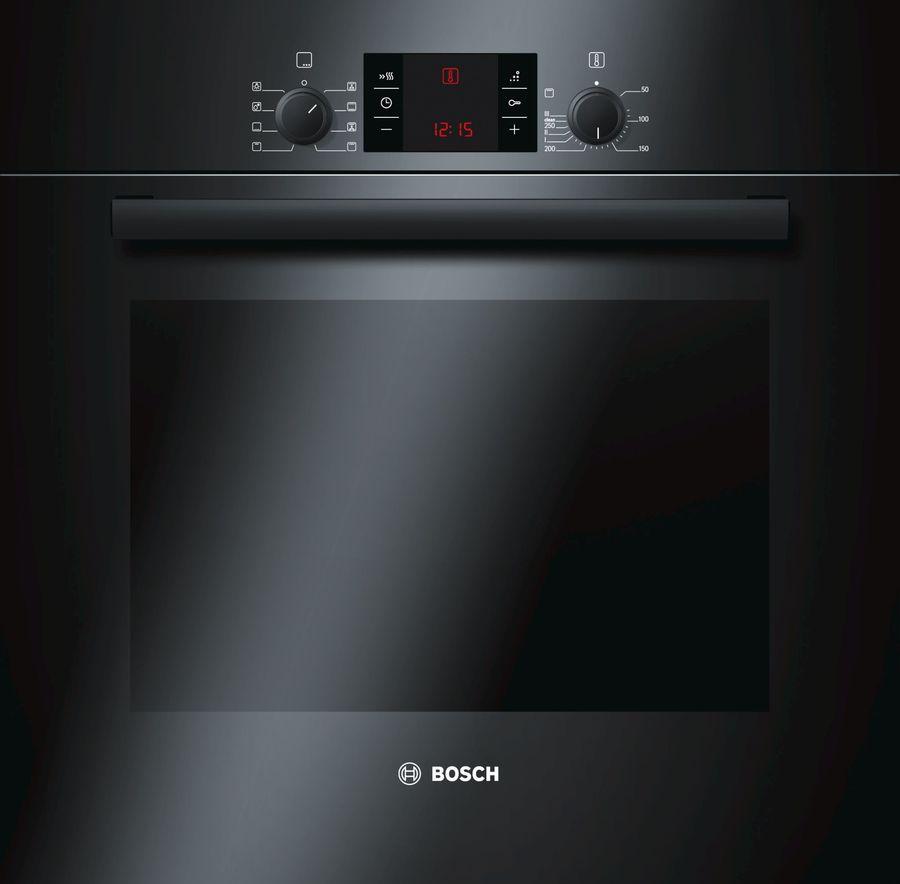 Духовой шкаф BOSCH HBA43T360,  черный