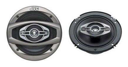 Колонки автомобильные JVC CS-HX648,  коаксиальные,  310Вт