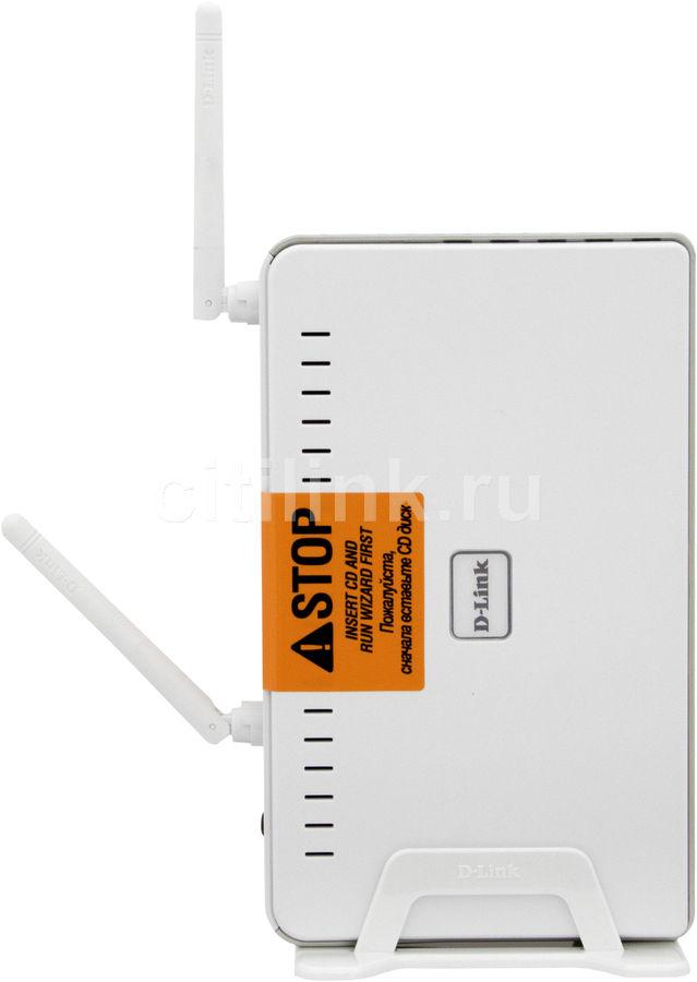 Модем D-Link DSL-2760U/BRU/D2 Wireless 802.11n ADSL/ADSL2/ADSL2+ 2 USB порта 4x10/100Base-TX