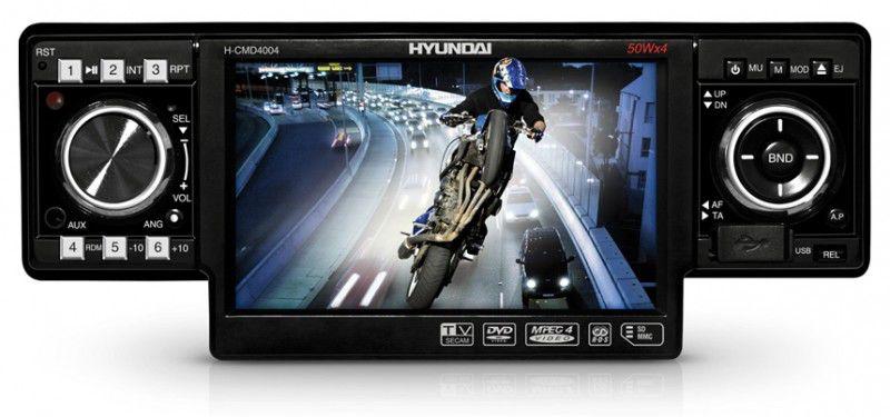 Автомагнитола HYUNDAI H-CMD4004,  USB,  SD/MMC
