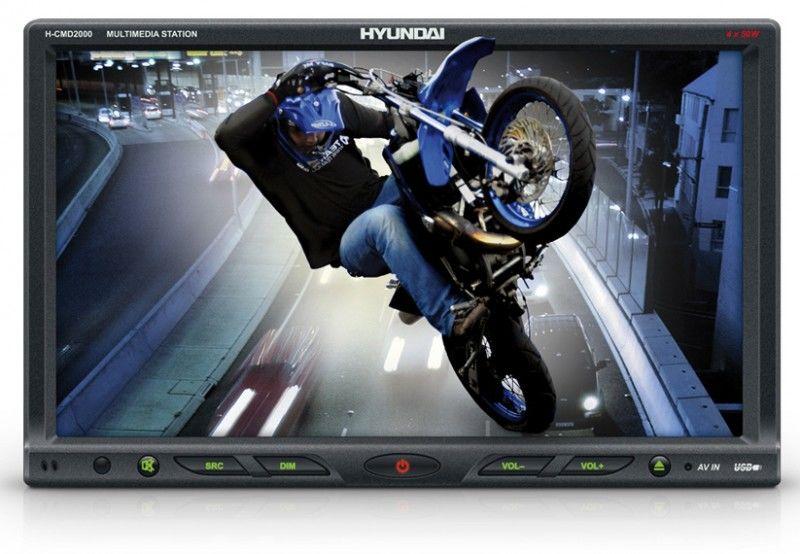 Автомагнитола HYUNDAI H-CMD2000,  USB,  SD/MMC