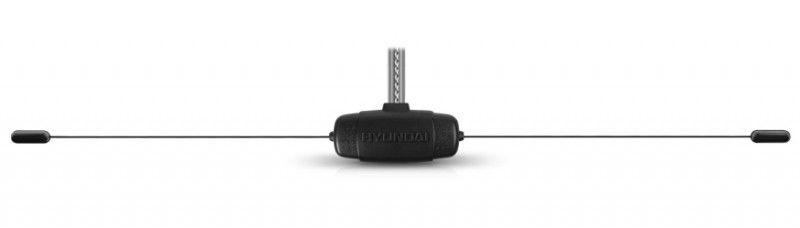 Антенна автомобильная Hyundai H-CA1200 активная радио каб.:2.75м