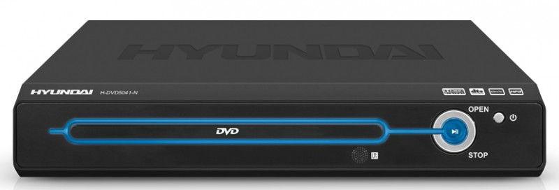 DVD-плеер HYUNDAI H-DVD5041-N,  черный