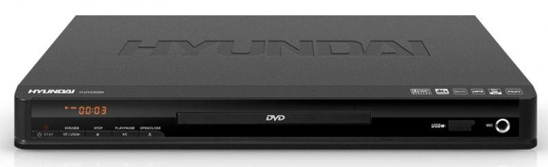 DVD-плеер HYUNDAI H-DVD5069,  черный
