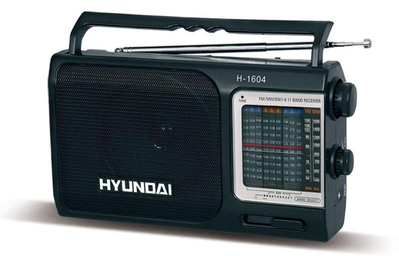 Радиоприемник HYUNDAI H-1604,  черный