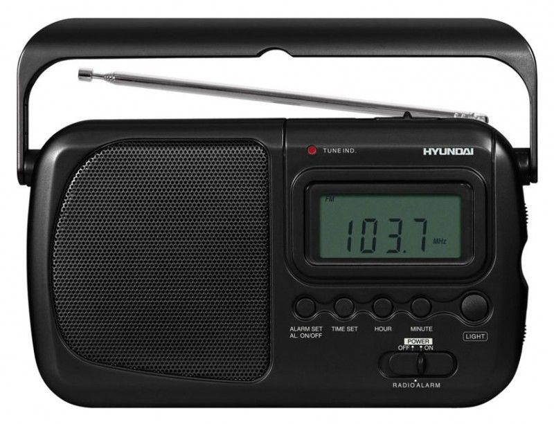 Радиоприемник HYUNDAI H-1609,  серебристый