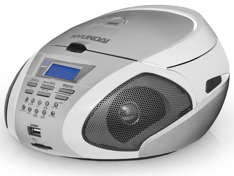 Аудиомагнитола HYUNDAI H-1419,  белый