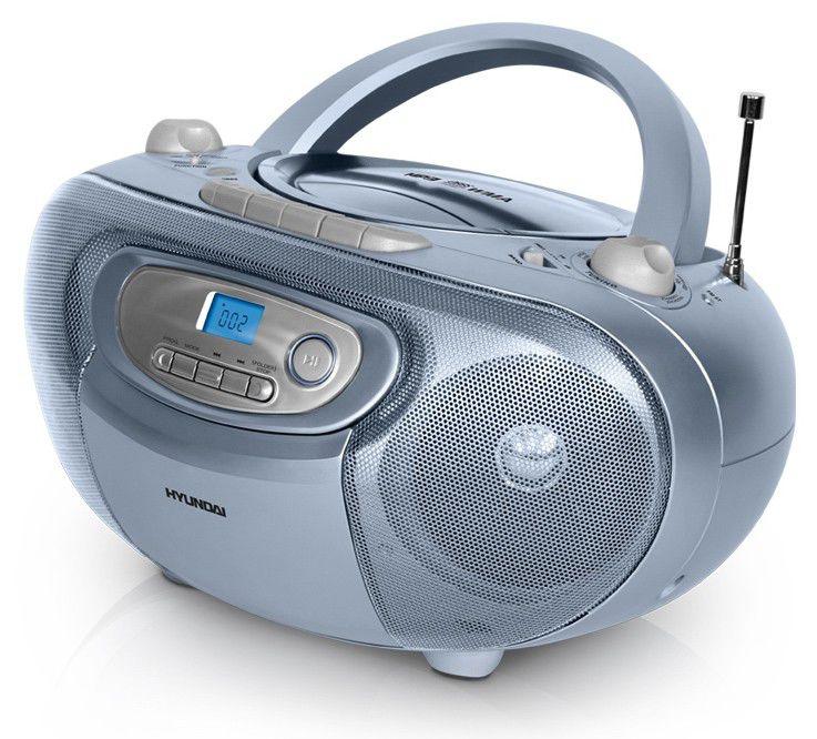 Аудиомагнитола HYUNDAI H-1422,  голубой