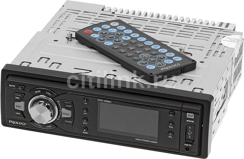 Автомагнитола PROLOGY DVD-2050U,  USB,  SD