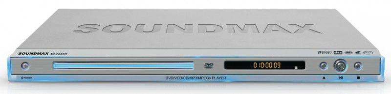 DVD-плеер SOUNDMAX SM-DVD5101,  серебристый
