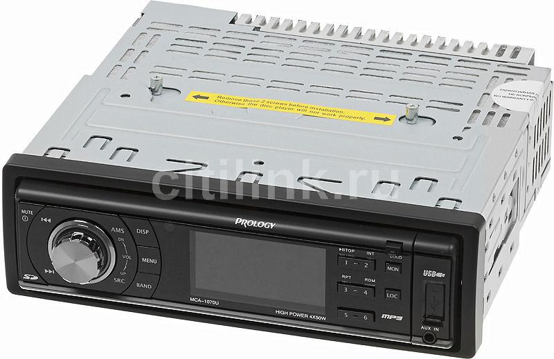 Автомагнитола PROLOGY MCA-1070U,  USB,  SD