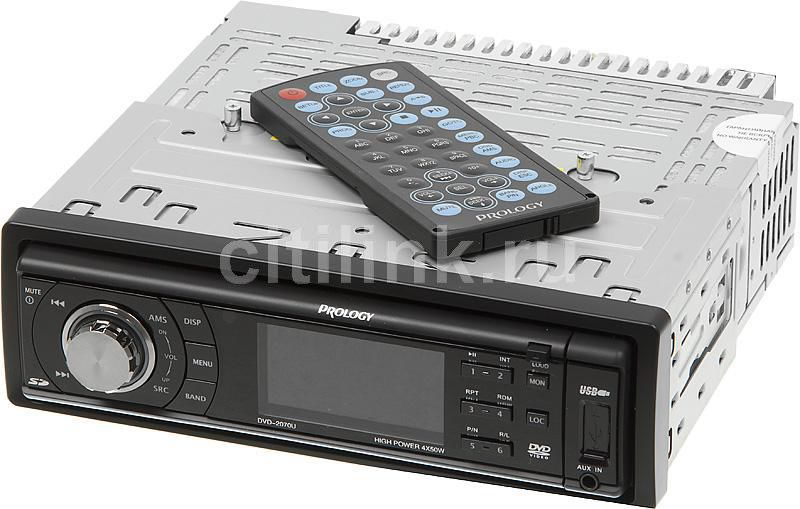 Автомагнитола PROLOGY DVD-2070U,  USB,  SD