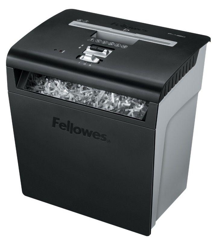 Уничтожитель бумаг FELLOWES PowerShred P-48C,  уровень 3,  P-3,  3.9х50 мм [fs-32148]