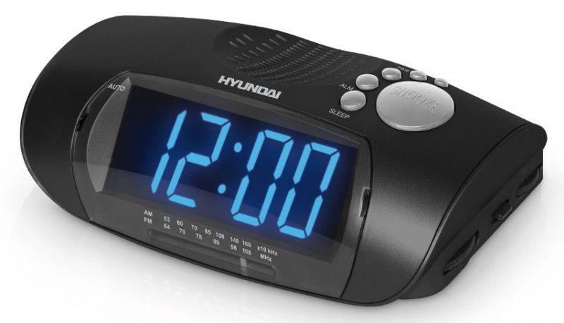 Радиобудильник HYUNDAI H-1509, черный