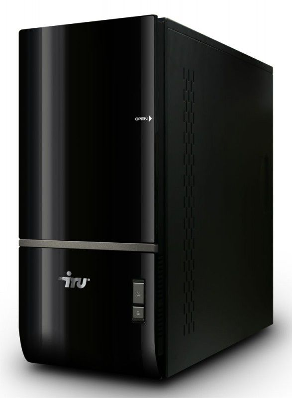 IRU Home 711,  Intel  Core i5  750,  4Гб, 500Гб,  nVIDIA GeForce GTX 260 - 896 Мб,  DVD-RW,  CR,  noOS,  черный