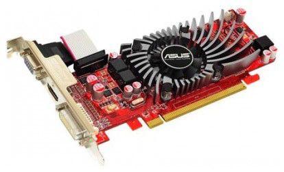 Видеокарта ASUS AMD  Radeon HD 5550 ,  1Гб, DDR3, Ret [eah5550/di/1gd3(lp)]