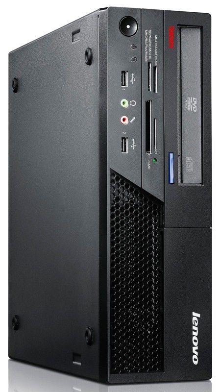 Компьютер  LENOVO ThinkCentre M58 SFF,  Intel  Core2 Duo  E7500,  DDR2 4Гб, 500Гб,  Intel GMA 4500,  DVD-RW,  Free DOS,  черный [7348a12]