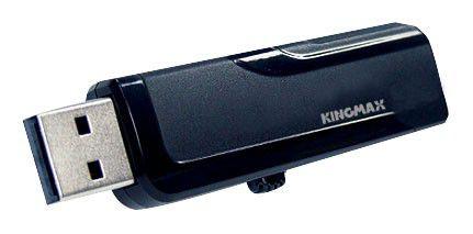 Флешка USB KINGMAX Pop 4Гб, USB2.0, черный [pd-02]