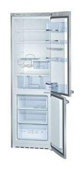 Холодильник BOSCH KGS36Z45,  двухкамерный,  серебристый