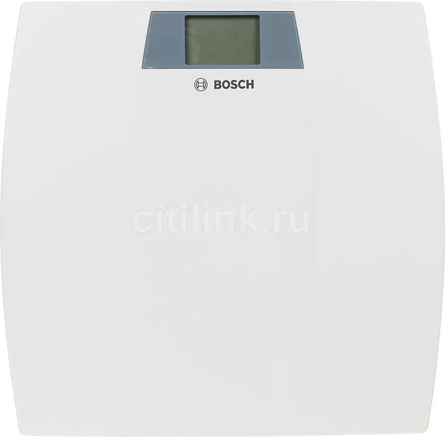 Весы BOSCH PPW3100, до 150кг, цвет: белый