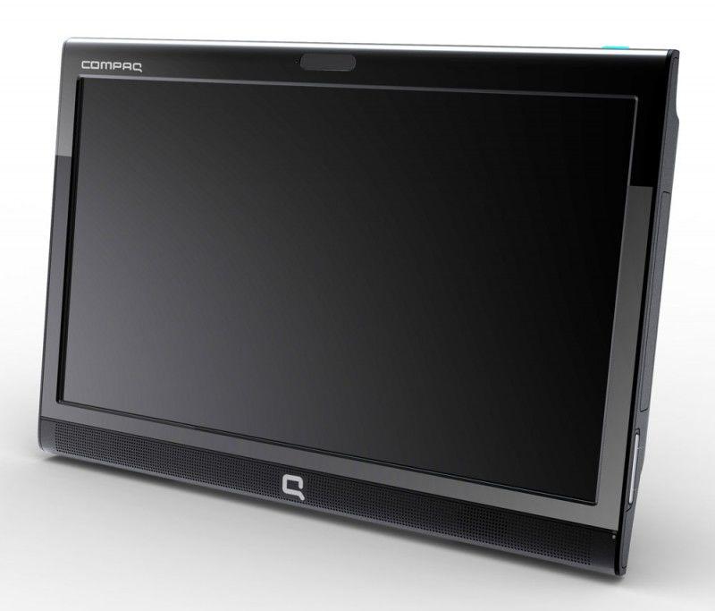 HP Compaq 100eu AIO,  Intel  Atom  D410,  DDR2 1Гб, 160Гб,  Intel GMA 3150,  DVD-RW,  Windows XP Home,  черный [wu115ea]
