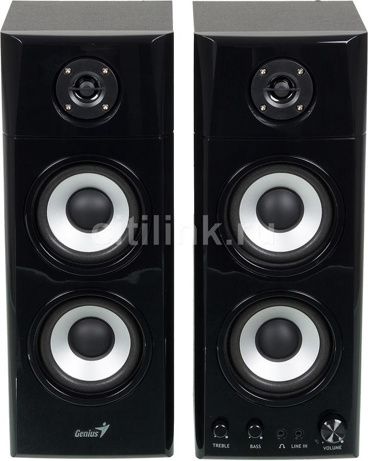 Колонки GENIUS SP-HF 1800A,  черный [31730908100]