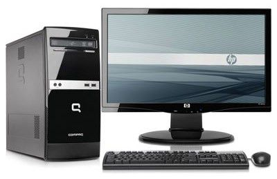 Компьютер  HP 500B MT + монитор s2031a (комплект),  Intel  Pentium Dual-Core  E5500,  DDR3 2Гб, 320Гб,  Intel GMA 4500,  DVD-RW,  CR,  Free DOS,  черный [wu202ea]