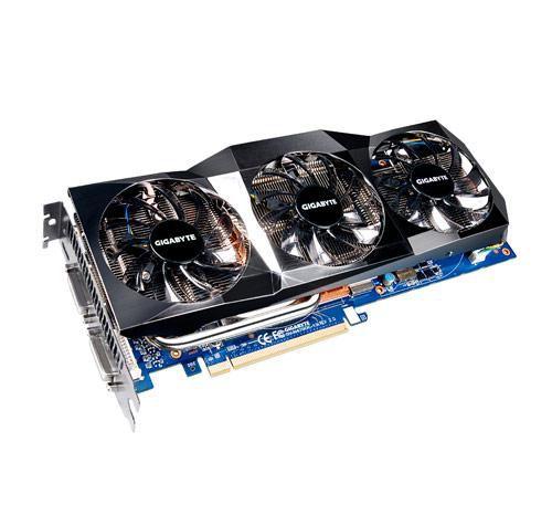 Видеокарта GIGABYTE GeForce GTX 470,  1.3Гб, GDDR5, OC,  Ret [gv-n470oc-13i]