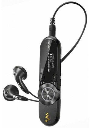 MP3 плеер SONY NWZ-B153F flash 4Гб черный [nwzb153f]
