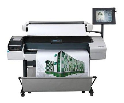 Плоттер HP DesignJet T1200HD MFP 44