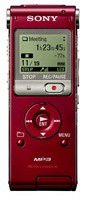 Диктофон SONY ICDUX200R 2 Gb,  красный