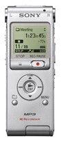 Диктофон SONY ICDUX200S 2 Gb,  серебристый