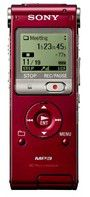 Диктофон SONY ICDUX300R 4 Gb,  красный