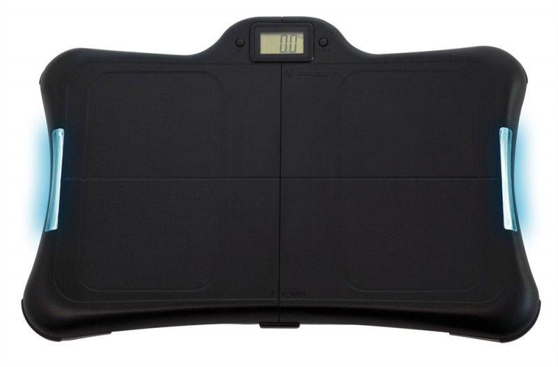 Беспроводной контроллер NINTENDO Wii Premium Fitness, для  Wii, черный [74708]