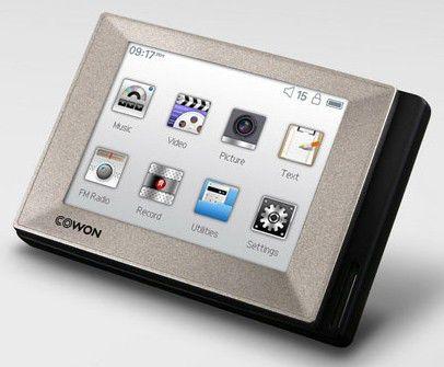 MP3 плеер COWON D2+ flash 16Гб серебристый [15 109 168]