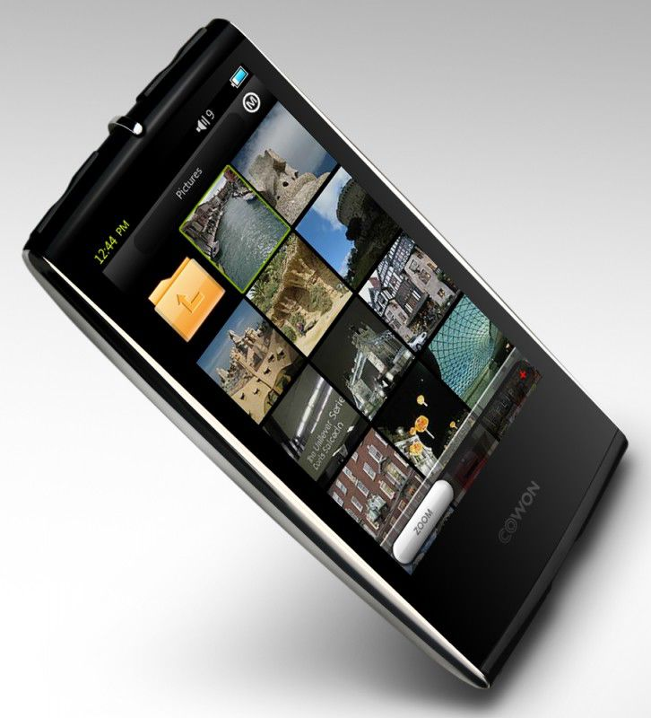 MP3 плеер COWON S9 flash 16Гб хром [15 111 385]