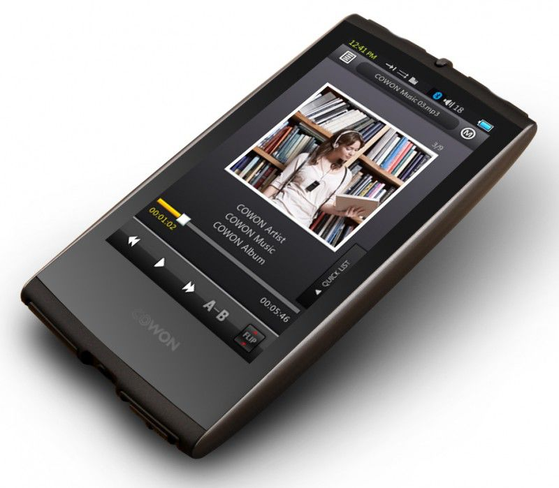 MP3 плеер COWON S9 flash 16Гб титан [15 111 252]