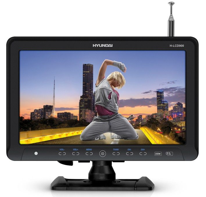 Автомобильный портативный телевизор HYUNDAI H-LCD900,  9.2