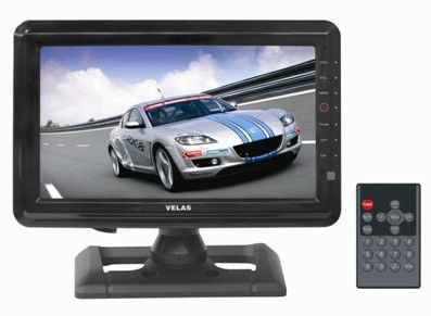 Автомобильный портативный телевизор VELAS VTV-710,  7