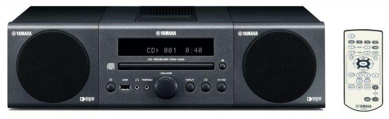 Музыкальный центр YAMAHA MCR-040,  темно-серый