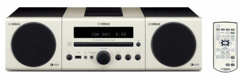 Музыкальный центр YAMAHA MCR-040,  белый