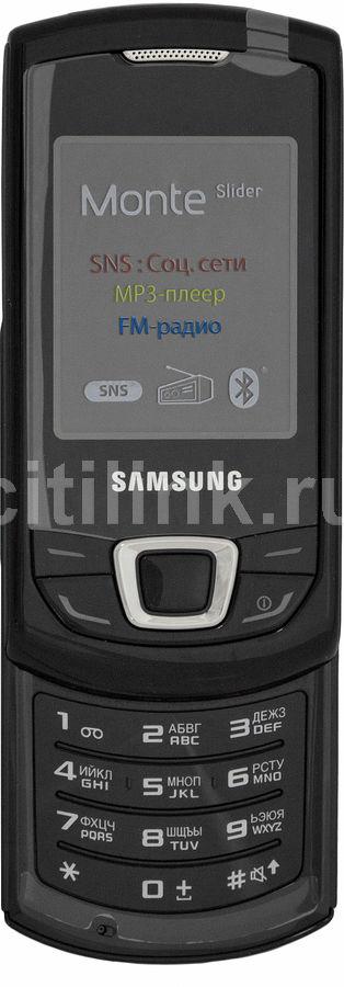 Мобильный телефон SAMSUNG GT-E2550,  черный