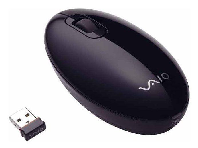 Мышь SONY VAIO VGP-WMS30 лазерная беспроводная USB, черный [vgp-wms30/b]