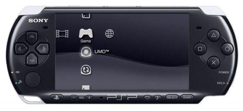 Игровая консоль SONY PlayStation Portable PSP-3008, черный