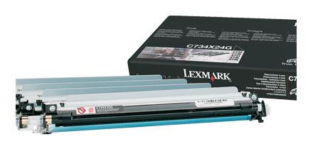 Фотобарабан(Imaging Drum) LEXMARK C734X24G (4 шт) для C73x/X73x
