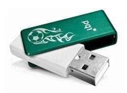 Флешка USB PQI Traveling Disk U262 16Гб, USB2.0, зеленый