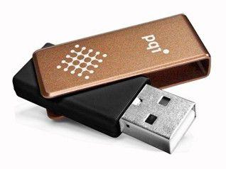 Флешка USB PQI Traveling Disk U262 4Гб, USB2.0, коричневый