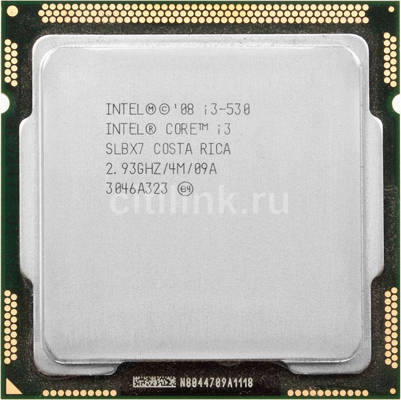Процессор INTEL Core i3 530, LGA 1156 OEM